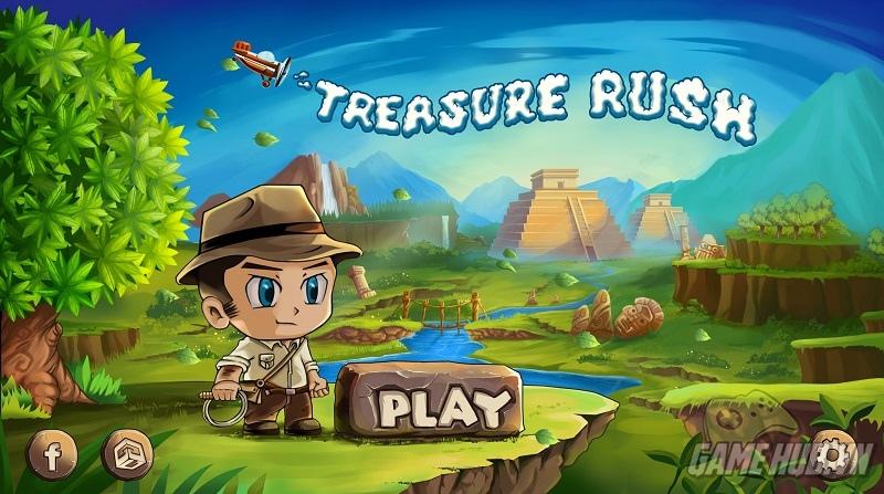 Cùng vượt chướng ngại vật với Treasure Rush tìm kiếm kho báu