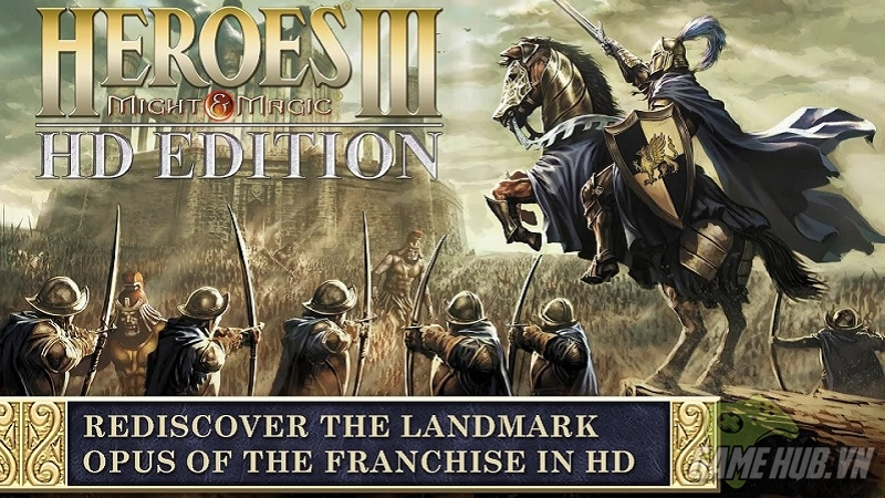 Heroes of Might & Magic III HD chính thức ra mắt