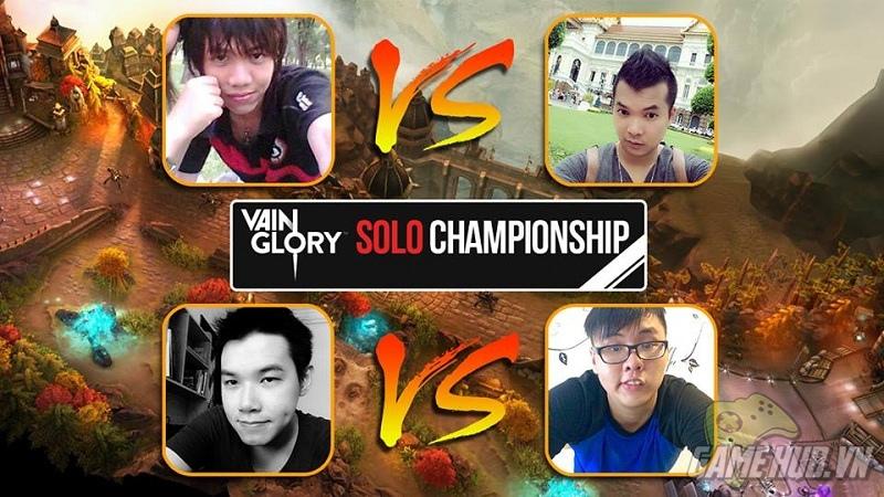 Tường thuật trực tiếp vòng tứ kết giải đấu Vainglory Solo Championship