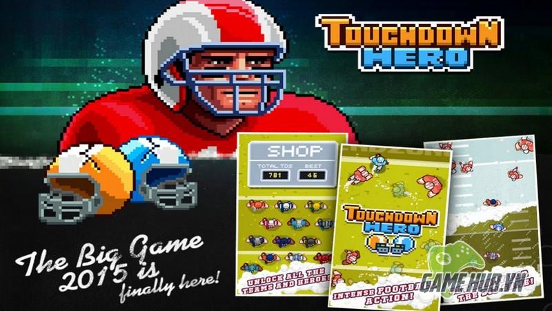 Trở thành một tay chơi cừ khôi trong Superbowl với Touchdown Hero