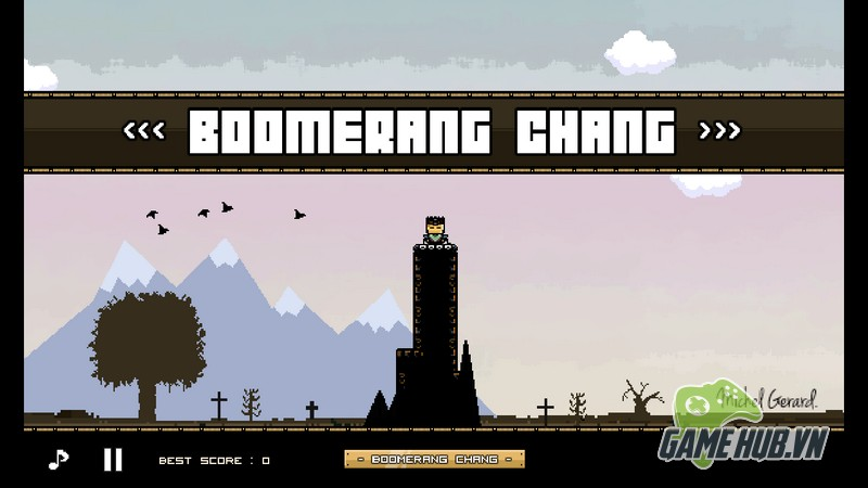 Thêm một tựa game giải trí thú vị mang tên Boomerang Chang