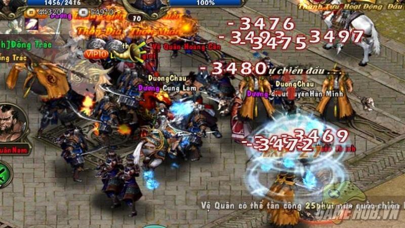 Hơn 50 nghìn game thủ tấn công Bá Thiên Hạ sau 3 giờ ra mắt