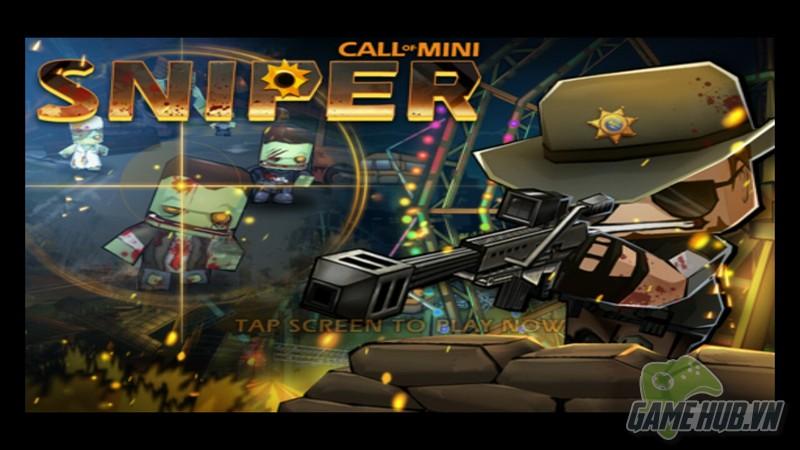 Call of Mini: Sniper – Nhập vai thiện xạ hạ gục Zombie