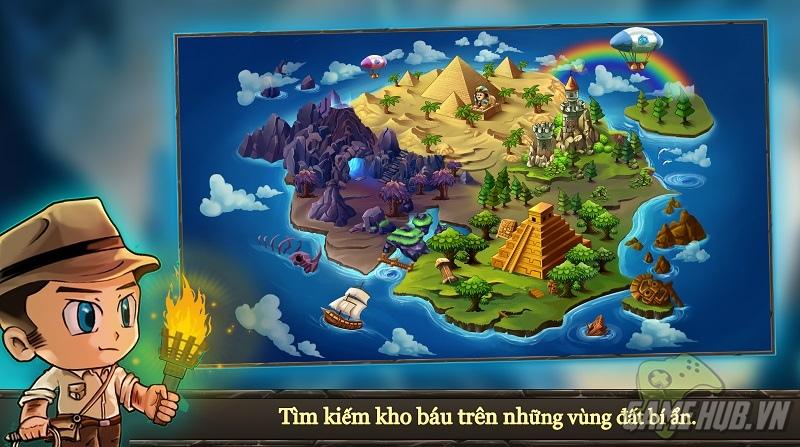 Treasure Rush - Trải nghiệm truy tìm kho báu với anh chàng Chibi