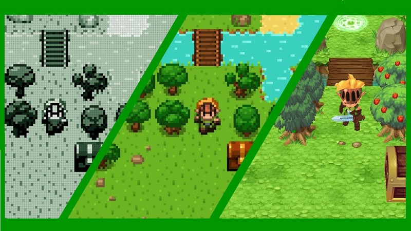 Evoland - Hồi sinh Final Fantasy, Zelda, Diablo.. chỉ trong một tựa game