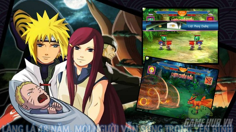 Game thủ nghĩ gì về Naruto 3D trong ngày đầu ra mắt ?