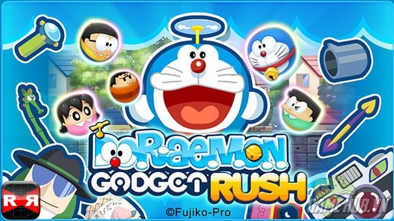Doraemon Gadget Rush – Diệt trừ người ngoài hành tinh cùng Doraemon