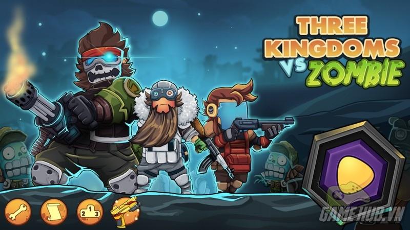 Tam Quốc vs Zombie - Xả súng giết zombie gay cấn - iOS/Android