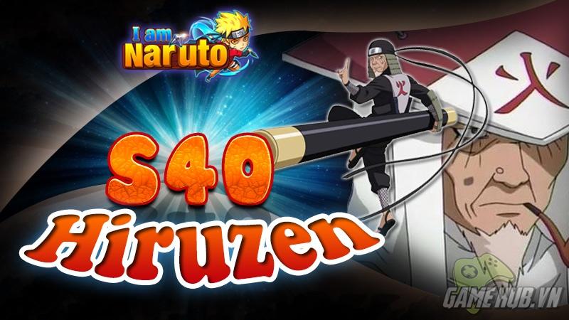 I Am Naruto - Nhân 2 thẻ nạp và khai mở S40 - Hiruzen
