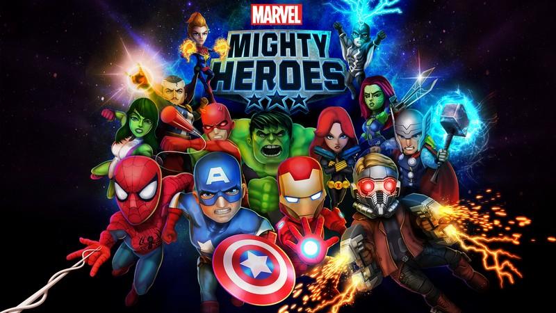 Marvel Mighty Heroes - Anh hùng Marvel hội ngộ trong gMO hành động
