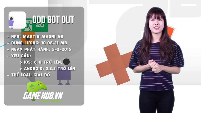 Odd Bot Out - Đưa chú Robot khám phá thế giới - iOS/Android