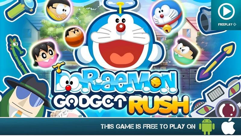 Doraemon Gadget Rush - Trở về tuổi thơ chơi xếp hình - iOS/Android
