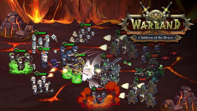 Warband - Nhập vai xây dựng đội quân diệt quái - iOS/Android