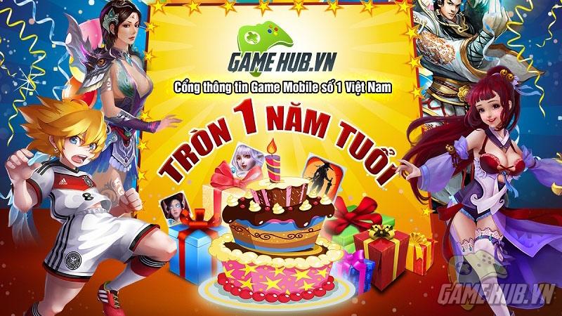 GameHub.vn vững bước phát triển sau một năm hoạt động