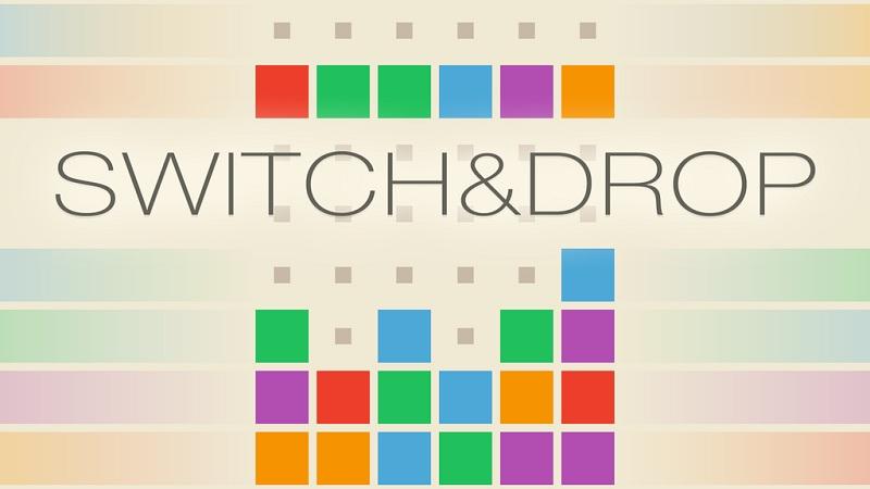 Switch & Drop - Xếp hình Tetris phong cách mới - iOS