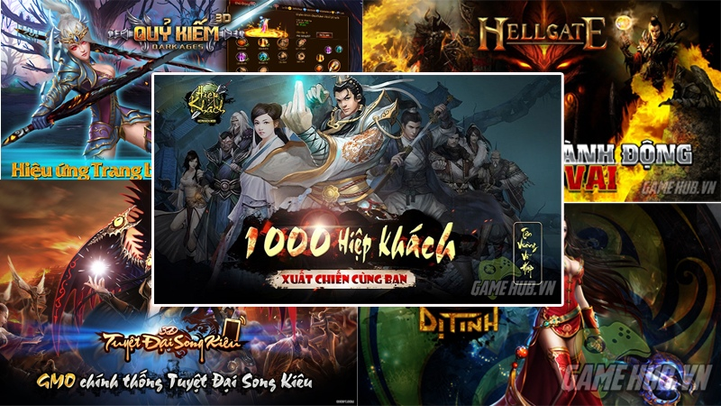 Top 5 gMO thể loại Action RPG 3D hấp dẫn nhất