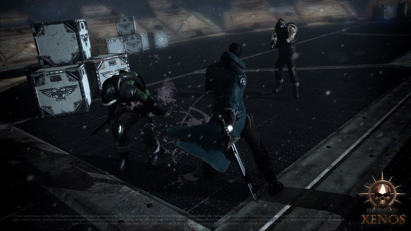 Eisenhorn Xenos, Warhammer 40K, Game hanh dong, Action Game, Pixel Hero Games, iOS, Android, gdc 2015, game do hoa dep, game 3d, do hoa 3d, Unreal Engine 3, unreal