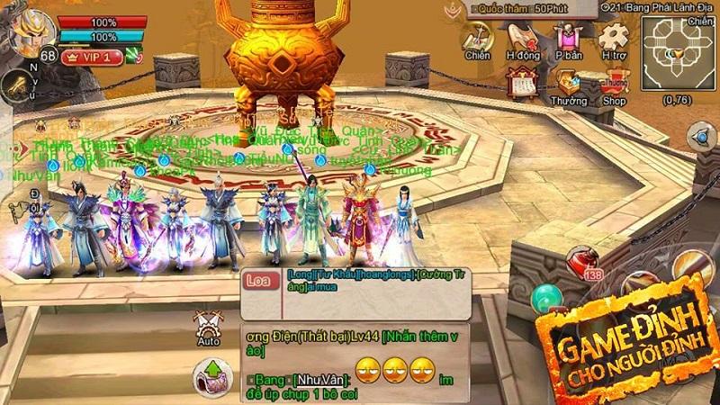 Bí kíp 24h Quốc Chiến số 1 - Mẹo lên level nhanh cho game thủ