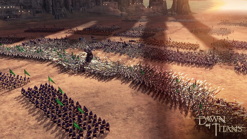 Dawn of Titans - Kịch chiến 7000 ngàn quân với siêu phẩm đồ họa