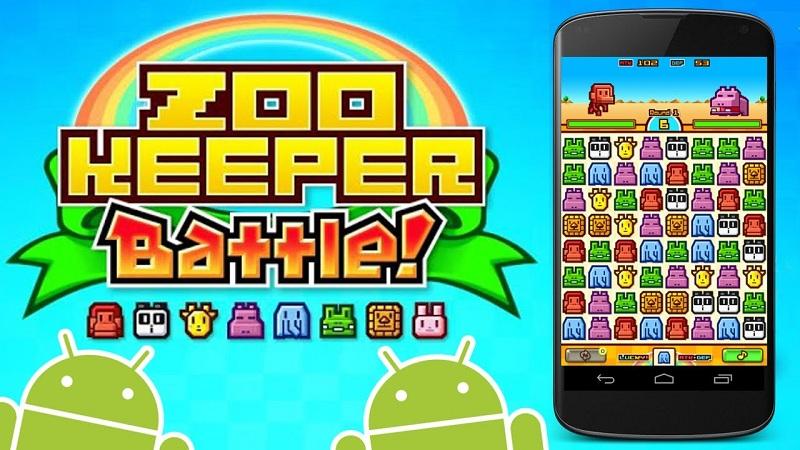 ZooKeeper Battle - Đội thú cưng chiến đấu chuyên nghiệp - iOS/Android