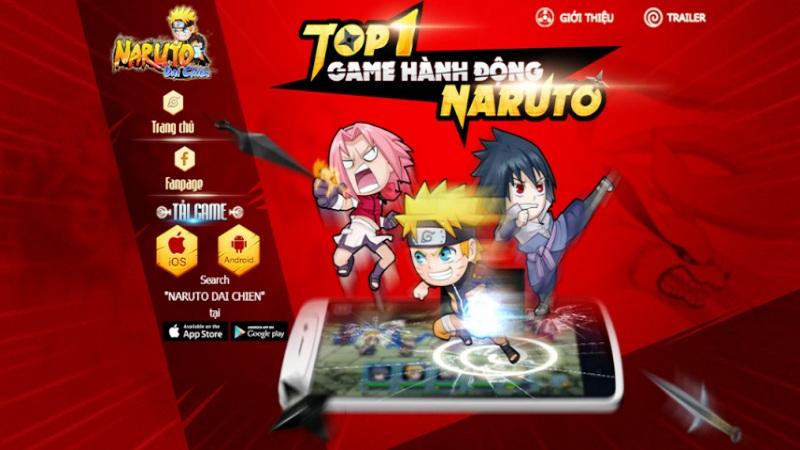 Naruto Đại Chiến - Trailer hành động cùng landing kích thích