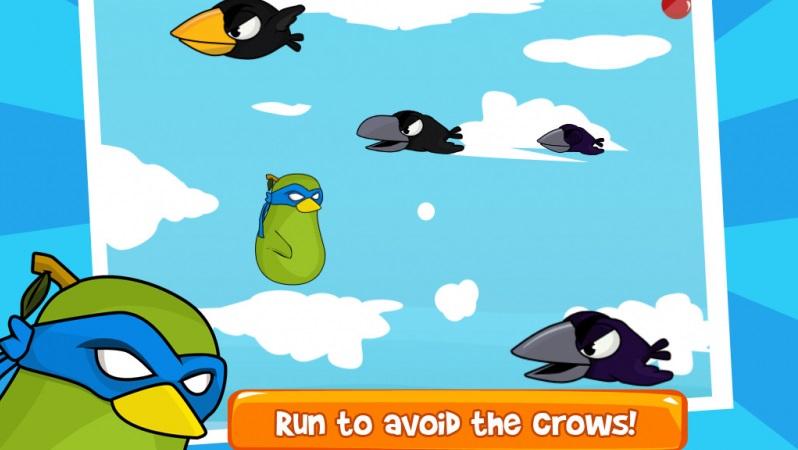 Fruit Birds Cowboy Ninja Commando - Hiệp sĩ chim - iOS