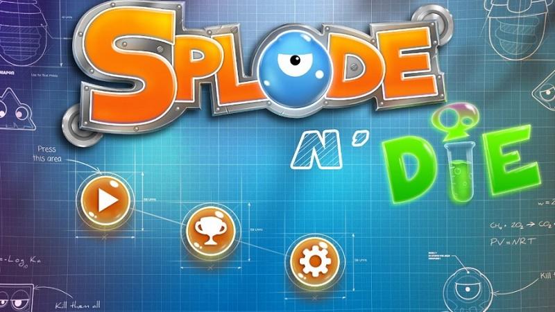 Splode'n'die - Bắn laze chặn không cho thoát - iOS/Android