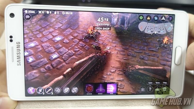 MOBA mobile Vainglory đã có mặt trên Android