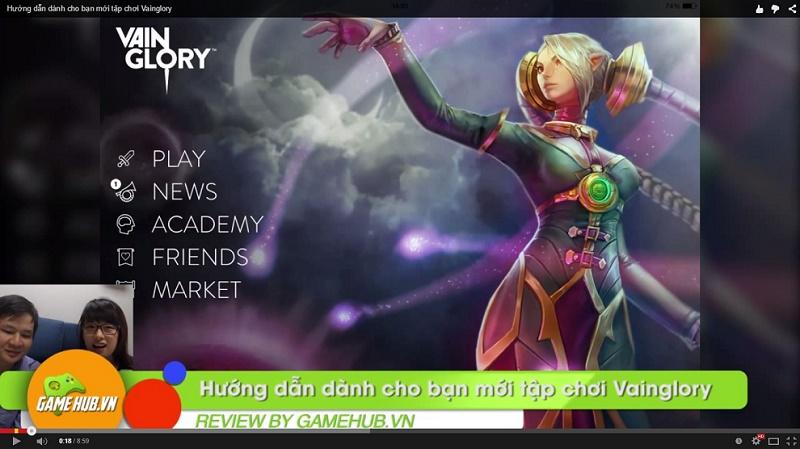 Hướng dẫn dành cho bạn mới tập chơi Vainglory