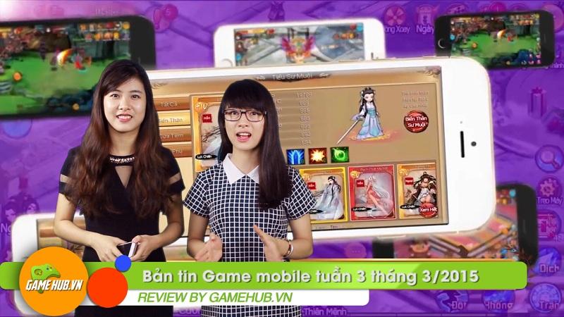 Bản tin Game mobile tuần 3 tháng 3/2015