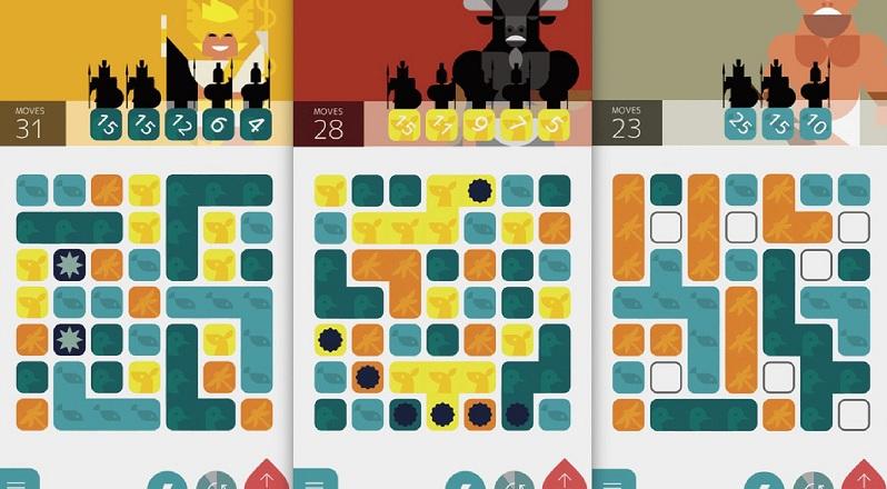 Olym - Ghép hình đánh quái cùng các vị thần - iOS