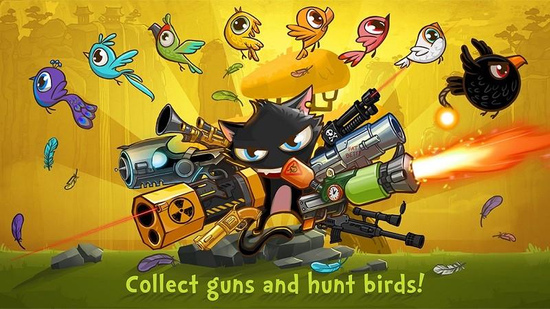 Guncat - Game mèo bắn chim thần chưởng - iOS
