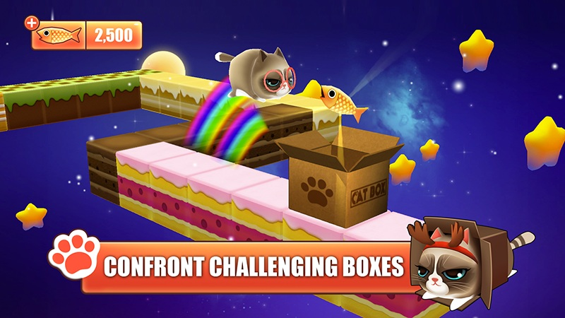 Kitty in the Box - Game mèo rúc hộp đáng yêu - iOS/Android