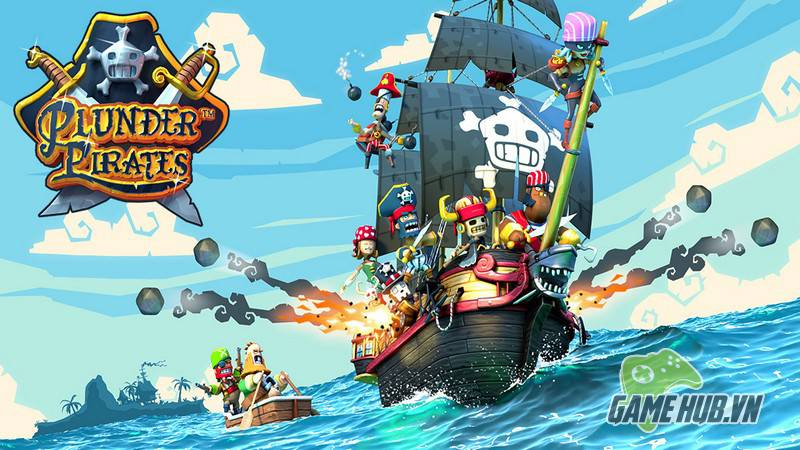 Plunder Pirates, boom beach, android, ios, tai game mien phi, download game mien phi, tai game free, download game free, clash of clans