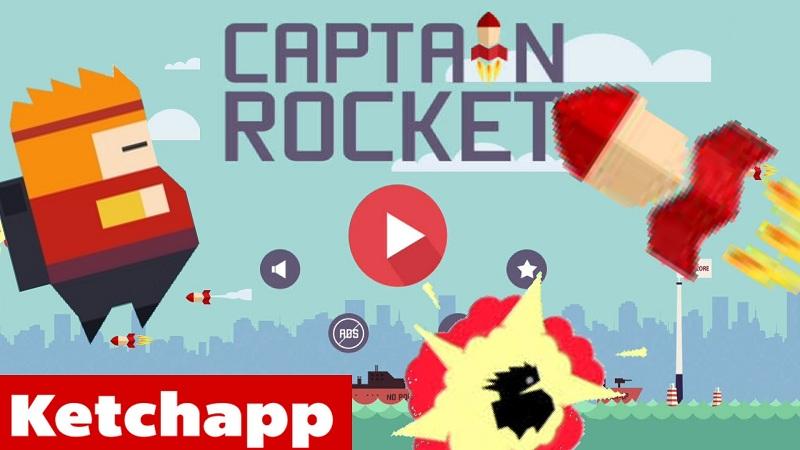 Captain Rocket - Game mạo hiểm nhảy trên tên lửa - iOS/Android