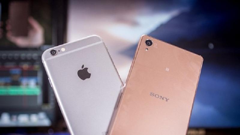 Sony lãi lớn nhờ Apple iPhone 6 và Samsung Galaxy S6