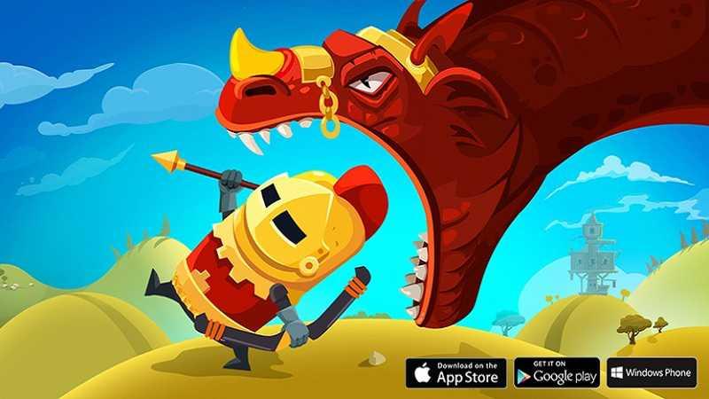 Dragon Hills - Game làm nữ hiệp sĩ cưỡi...