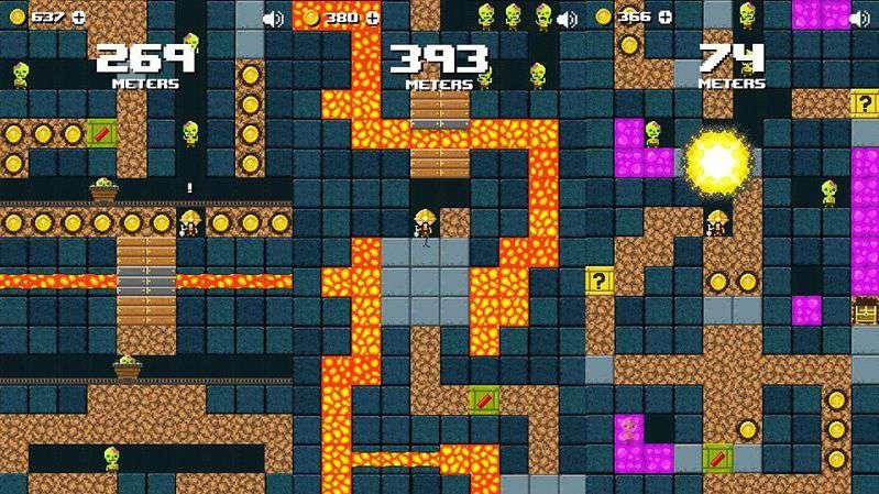 Miner Z - Game đào hầm chạy trốn lũ...