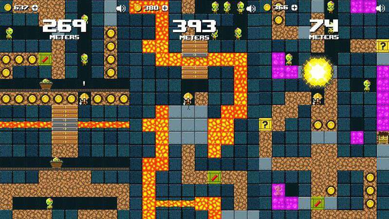Miner Z - Game đào hầm chạy trốn lũ Zombie
