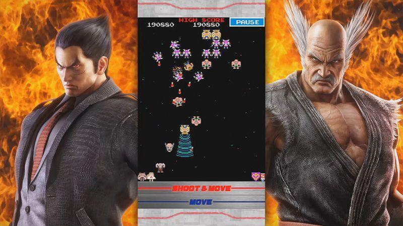 Galaga Tekken - Game bắn ruồi, giữ tính mạng anh hùng - iOS/Android