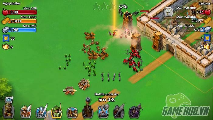 """Age of Empires - Game """"Đế chế"""" đổ bộ Mobile với phong cách Clash of Clans"""