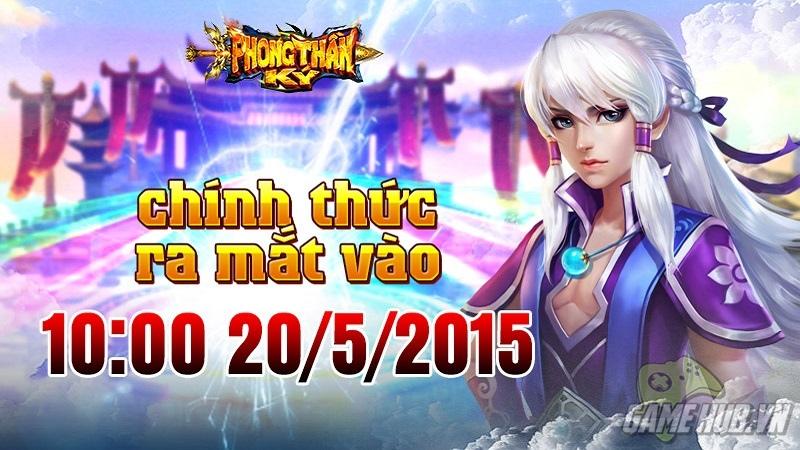Trải nghiệm gMO 3D Phong Thần Ký ra mắt 20/5/2015 - Gamota