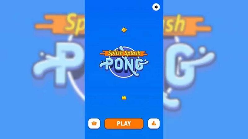 Splish Splash Pong - Game thú xinh lội biển tránh cá mập - iOS