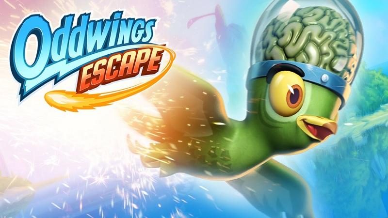 Oddwings Escape - Game chim xanh bay lượn vượt đảo - iOS