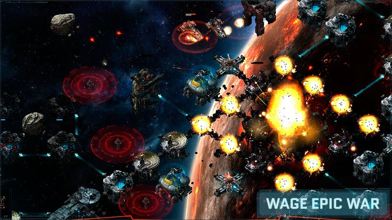 Vega Conflict - Game gây dựng lãnh thổ trong không gian - iOS/Android