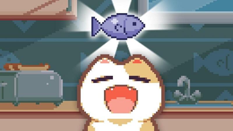 Nom Cat - Game mèo há miệng đớp cá dễ thương - iOS/Android
