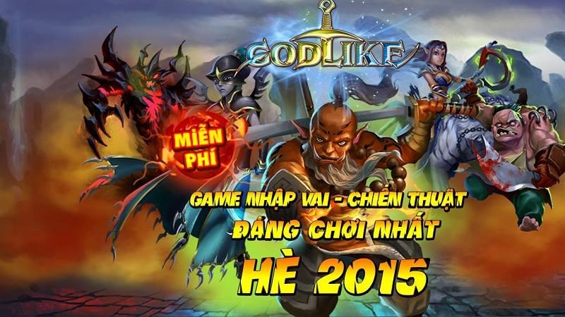 Godlike - Giftcode Tân Thủ