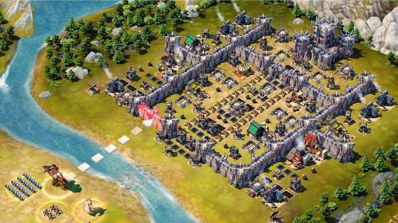 """Gameloft chính thức """"ném bom"""" siêu phẩm chiến thuật Siegefall"""