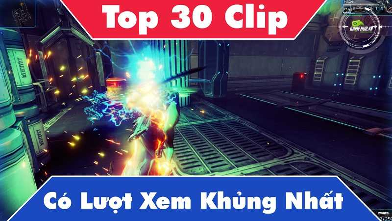 Top 30 Clip games view cao nhất Youtube