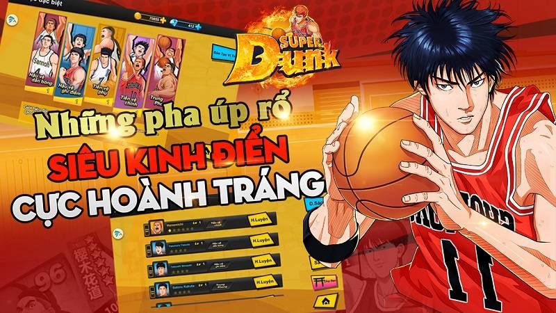 Super Dunk - Giftcode Tân Thủ
